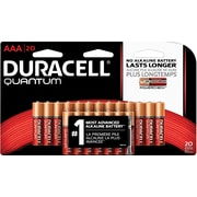 DURACELL QUANTUM  AAA 20 1 PACK - 20 PACKS/CASE