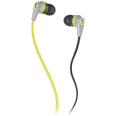 Skullcandy In-Ear Jib Headphones, Lime (S2DUFZ-385)