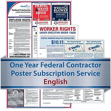 ComplyRight Federal Contractor (English) - Subscription Service