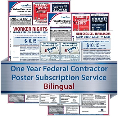 ComplyRight Federal Contractor Subscription Service