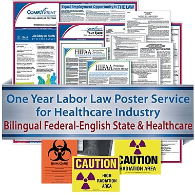 ComplyRight Federal (Bilingual), State & Healthcare (English) - Subscription Service, Hawaii