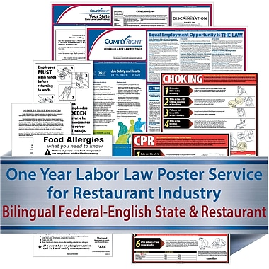 ComplyRight Federal (Bilingual), State & Restaurant (English) - Subscription Service, Maine