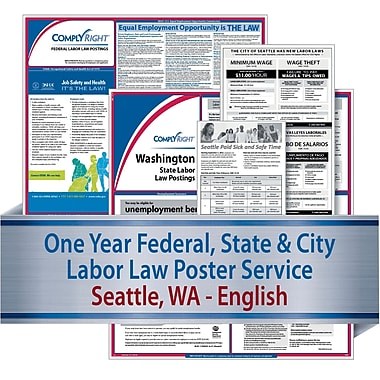 ComplyRight Federal, State & City (English) - Subscription Service, Seattle, WA