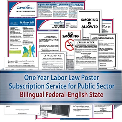ComplyRight Federal (Bilingual), State & Public Sector (English) - Subscription Service, California