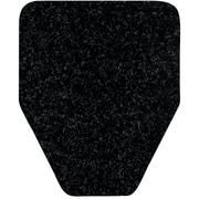 "WizKid® Urinal Mat, 27"" x 25"", Black, 28/CT"