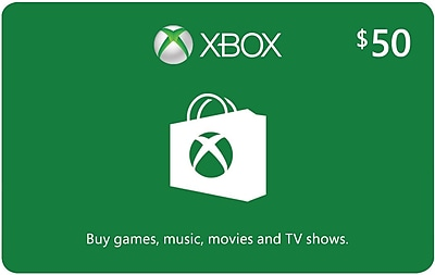 Microsoft Xbox Cash eGift Card $50