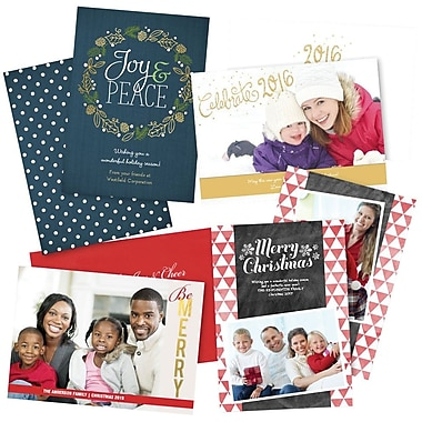 Custom Holiday Photo Cards