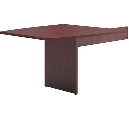 Basyx By HON BL Series Boat Shaped Modular Conference Table End - D shaped conference table