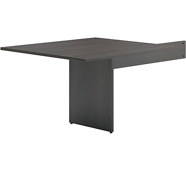 basyx by HON BL Series Rectangle Modular Conference Table End, Espresso, 29.5