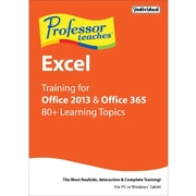 Individual Software Professor Teaches Excel for Office 2013 and Office 365 for Windows (1 User) [Download]