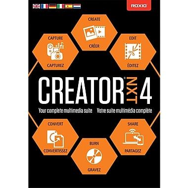 Roxio Creator NXT 4 for Windows (1 User) [Download]
