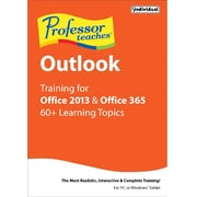 Individual Software Professor Teaches Outlook for Office 2013 and Office 365 for Windows (1 User) [Download]