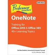 Individual Software Professor Teaches OneNote for Office 2013 and Office 365 for Windows (1 User) [Download]