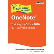 Individual Software Professor Teaches OneNote 2016 for Windows (1 User) [Download]