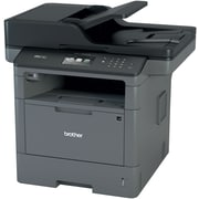 Brother MFCL5900DW Wireless Multifunction Monochrome Laser Printer with Single Pass Duplex Copy Scan and Fax