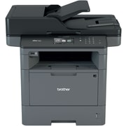 Brother MFCL5850DW Wireless Multifunction Monochrome Laser Printer with Single Pass Duplex Copy Scan and Fax