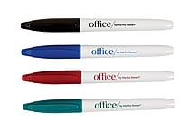 Office by Martha Stewart™ Dry Erase Markers, 4 Pack, Assorted Colors (28549)