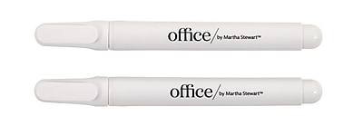 Office by Martha Stewart™ Liquid Chalk Markers, 2 Pack, White (28647)