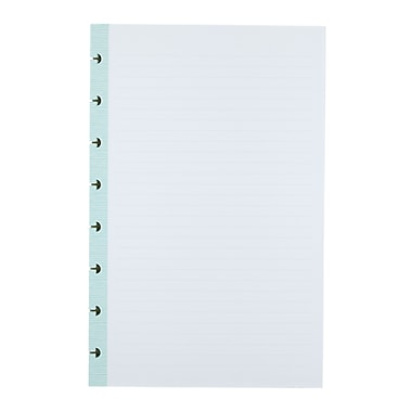 Office by Martha Stewart™ Discbound™ Junior Notebook Filler Paper, 50 Sheets, Blue (44467)