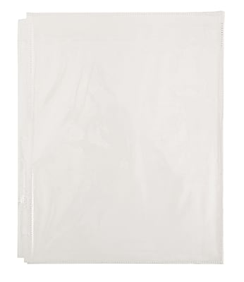 Office by Martha Stewart™ Secure-Top Sheet Protectors, 10 Pack, Clear Plastic (28754)