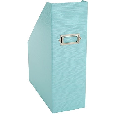 Office By Martha Stewart™ Stack+Fit™ Magazine File, Blue (28799)