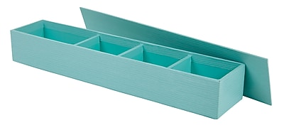 Office by Martha Stewart™ Stack+Fit™ Small Item Holder, Blue (28800)