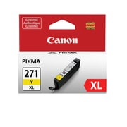 Canon CLI-271XL Yellow Ink Cartridge, (0339C001), High Yield