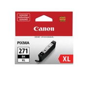 Canon CLI-271XL Black Ink Cartridge, (0336C001), High Yield