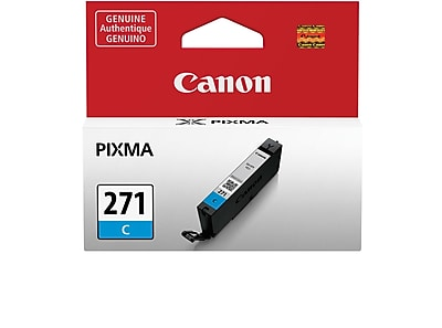 Canon CLI-271 Cyan Ink Cartridge (0391C001)