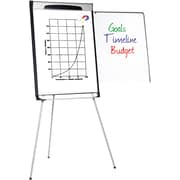 Staples® Gold Ultra  Dry Erase Tripod Pres. Easel, Black