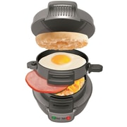 Hamilton Beach® Breakfast Sandwich Maker, Dark Gray