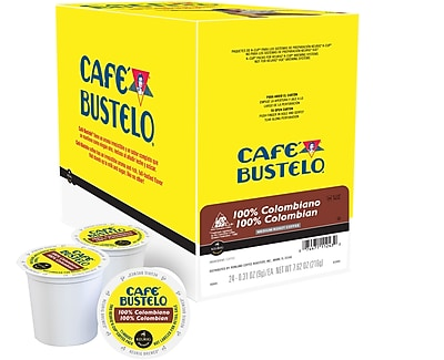 Keurig® K-Cup® Cafe Bustelo® 100% Colombian Coffee, 24 Count