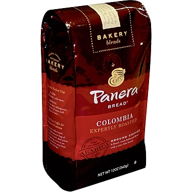 Panera Ground Coffee, Colombian Roast, 12 Oz Bag