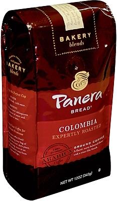 Panera Ground Coffee, Colombian Roast, 12 Oz Bag