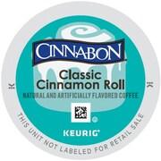 Keurig Cinnabon Classic Cinnamon Roll Coffee, Regular, 24 K-Cups/Pack (6305)