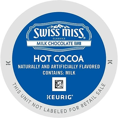 Swiss Miss Milk Chocolate Hot Cocoa, Keurig K-Cup Pods, 16 Count 445613