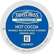 Swiss Miss Milk Chocolate Hot Cocoa, Keurig K-Cup Pods, 88/Carton (12528)