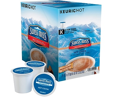 Keurig Swiss Miss Milk Chocolate Hot Cocoa, Regular, 24 Pack 465494