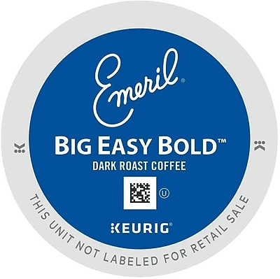 Emeril's Big Easy Bold, Regular Keurig K-Cup Pods, 18 Count 809133