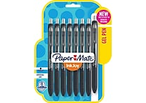 Paper Mate® InkJoy® Gel Pens, Fine Point, Black, 8 Pack (1968613)