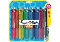 Paper Mate® InkJoy® Gel Pens, Medium Point, Assorted, 14/Pack (1951636)