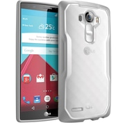 SUPCASE LG G4 Case Unicorn Beetle Hybrid Protective Case, Clear Gray