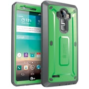 SUPCASE LG G4 Case Unicorn Beetle Pro Rugged Holster Case, Green Gray
