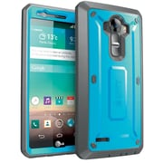 SUPCASE LG G4 Case Unicorn Beetle Pro Rugged Holster Case, Blue Black