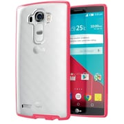 i-Blason LG G4 Case Halo Scratch Resistant Hybrid Clear Case, Pink