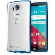 i-Blason LG G4 Case Halo Scratch Resistant Hybrid Clear Case, Navy