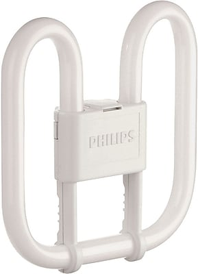 Philips Compact Fluorescent PL-Q Lamp, 38 Watts, 4-Pin, Warm White, 10PK