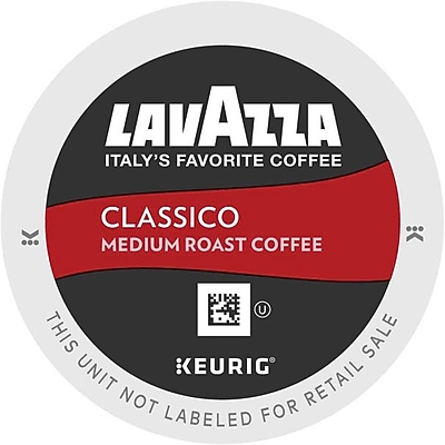 Lavazza® Classico Coffee, Keurig® K-Cup® Pods, Medium Roast, 22/Box (6001)