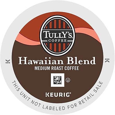 Keurig K-Cup Tully's Coffee Hawaiian Blend Coffee, 24 Count 140884