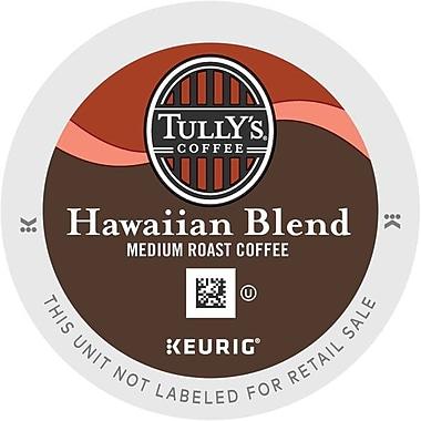 Keurig® K-Cup® Tully's® Hawaiian Blend Coffee, Regular, 24 Pack